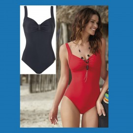 1 Piece Swimsuit, Oval Lines, Sunflair 2262418-26