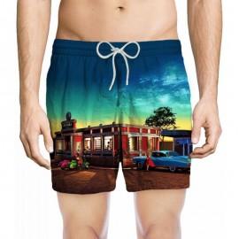 Boxer Homme, Zeybra Portofino, Vintage AUB856