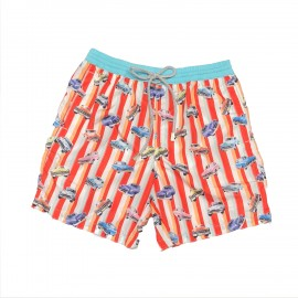 Boxer For Men, Zeybra Portofino, Cars AUB843