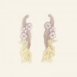 Boucles d'Oreilles, Frisson Végétal, Lise Charmel AIG1312-VR