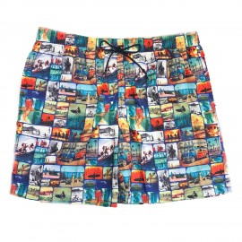 Boxer Homme, Johnny Brasco, Palmier Hawai 858345