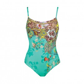 Padded 1 Piece Swimsuit - Tapisserie - Maryan Mehlhorn - 4055704-999