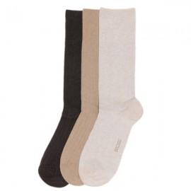Chaussettes Coton 3 Paires, TriplePack, Hom 475640