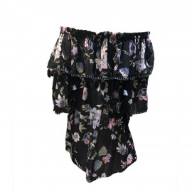 Robe Courte Manches 3/4, 100% Coton, Marybloom 225-960