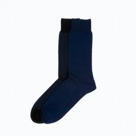 Chaussettes Coton 2 Paires, Simon, Hom 400594-V005