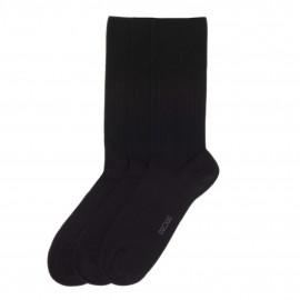 Chaussettes Coton 3 Paires, TriplePack, Hom 475161