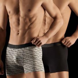 Duo Pack Boxer Parlez-Vous, Aubade Men XB53M/PARL