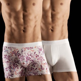 Duo Pack Boxer Porcelain, Aubade Men XB53M/PCEL
