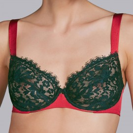 Underwired Bra with Armatures, Megeve, Andrès Sarda 3308011-BRI