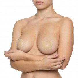 Caches Mamelons Pétales Silicone , Bye Bra B5000931