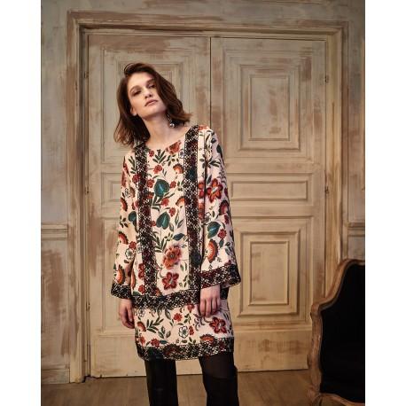 Long Sleeves Dress, Raffaela d'Angelo RD10ABF54-CRE