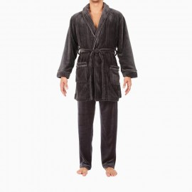 Short Robe, Forest, Hom 401092