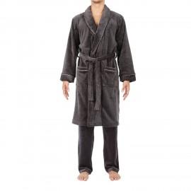 Robe De Chambre Longue, Forest, Hom 401007