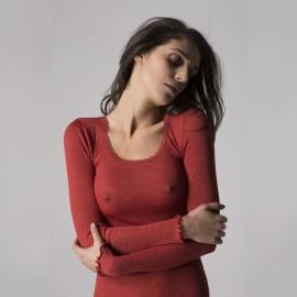 Long Sleeves Top , Orosei, Boglietti FRG591-77