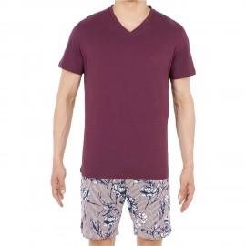 Pyjama Short, Botanic, Hom 401160