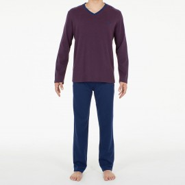 Tracksuit V Neck, Lake, Hom 401094