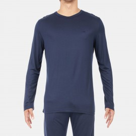 Tee Shirt Long Sleeves Crew, Hom 401020