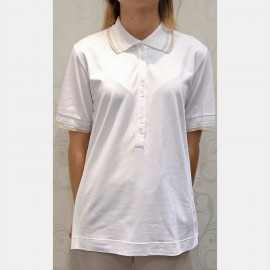 Short Sleeves Polo, Jersey Chic, Luna di Giorno Home E81662-00001