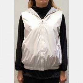 Reversible Waterproof Coat, Nylon, Luna di Giorno Hom E81683-00002