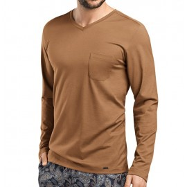 Long Sleeved Tee Shirt, Jeremy, Hanro 075576