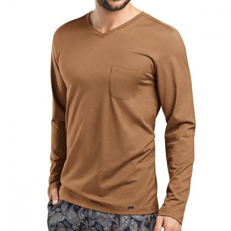 Tee Shirt Manches Longues, Jeremy, Hanro 075576