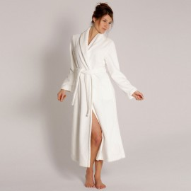 Robe with Crossed Shawl Neck, Bamboo, Taubert 000619-114