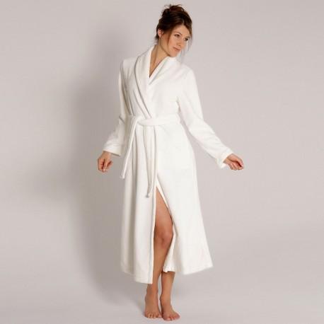 Robe with Crossed Shawl Neck, Bamboo, Taubert 000619-114