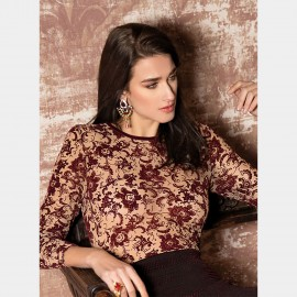 Long Sleeves Top, Medea, Pierre Mantoux 18AI3520/5659