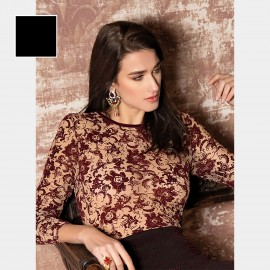 Long Sleeves Top, Medea, Pierre Mantoux 18AI3520/9017