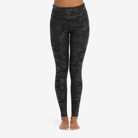 Leggings Fake Leather, Camo, 20185R