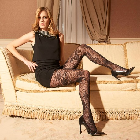 Fancy Tights 40 Den, Fenice, Trasparenze FENICE/NERO