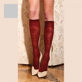 Knee-Length Stockings 60 Den, Briseide, Trasparenze BRISEIDE-GO/METAL