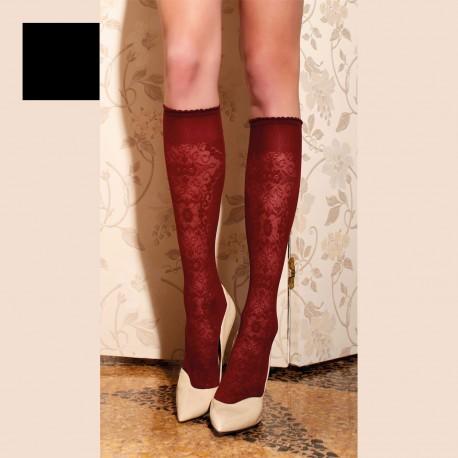 Knee-Length Stockings 60 Den, Briseide, Trasparenze BRISEIDE-GO/NERO