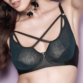 Push Up Bra with Lace, Amaya, 7558/E261