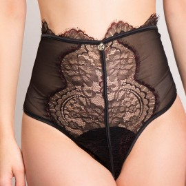 Opened High Waistline Thong, Flavia, 4663/D225