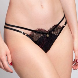 Tanga with Ajdustable Lace, Flavia, Escora 4656/D225