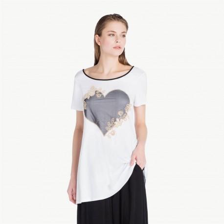 Tee Shirt, Twin-Set BS81KK-BL