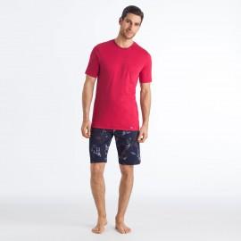 Pyjama Manches Courtes - Short, Narius, Hanro 075582-1440