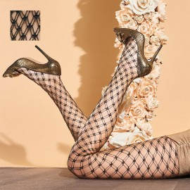 Fishnet Fancy Tights, Buttercup, Trasparenze BUTTERCUP-VB