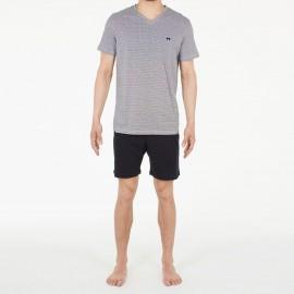 Pyjama Short 100% Coton, Kuda, Hom 401204-PK07