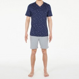 Pajamas Shorts 100% Cotton, Brando, Hom 401210-00RA