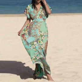 Long Dress, Fleurs Lagon, Lise Charmel ASA1823-LA