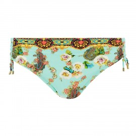 Slider Briefs Swimsuit, Fleurs Lagon, Lise Charmel ABA0623-LA