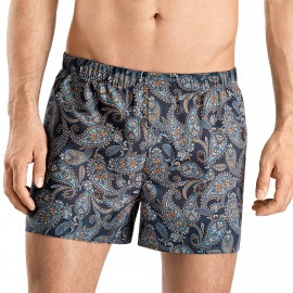 Boxer Brief 100% Coton, Fancy Woven, Hanro 074013-1912