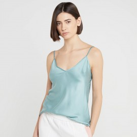Silked Top with Straps, Lucca Aqua, Max Mara LUCCA-007