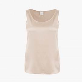 Silked Sleeveless Top, Pan Camel, Max Mara PAN-017