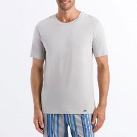Tee-Shirt Col Rond Manches Courtes 100% Coton, Living Shirt, Hanro 075050-1680