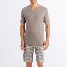 Pajamas Short Sleeves - Short, Aldo, Hanro 075660-1895