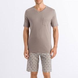 Pyjama Manches Courtes - Short, Aldo, Hanro 075660-1895