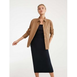 Leather-style shirt, Damiana Camel, Max Mara DAMIANA-001